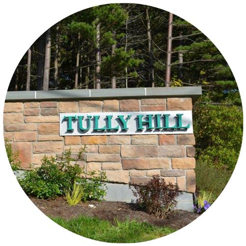 Tully Hill sign