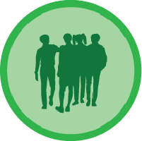 Group of four Icon